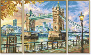 London Tower Bridge (80 x 50 cm)