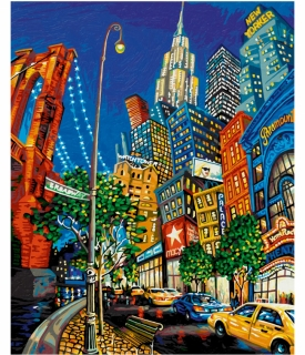The Big Apple - podľa Miguela Freitasa (40 x 50 cm)